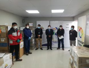 Convenio Marco entrega equipos al Hospital de Espinar